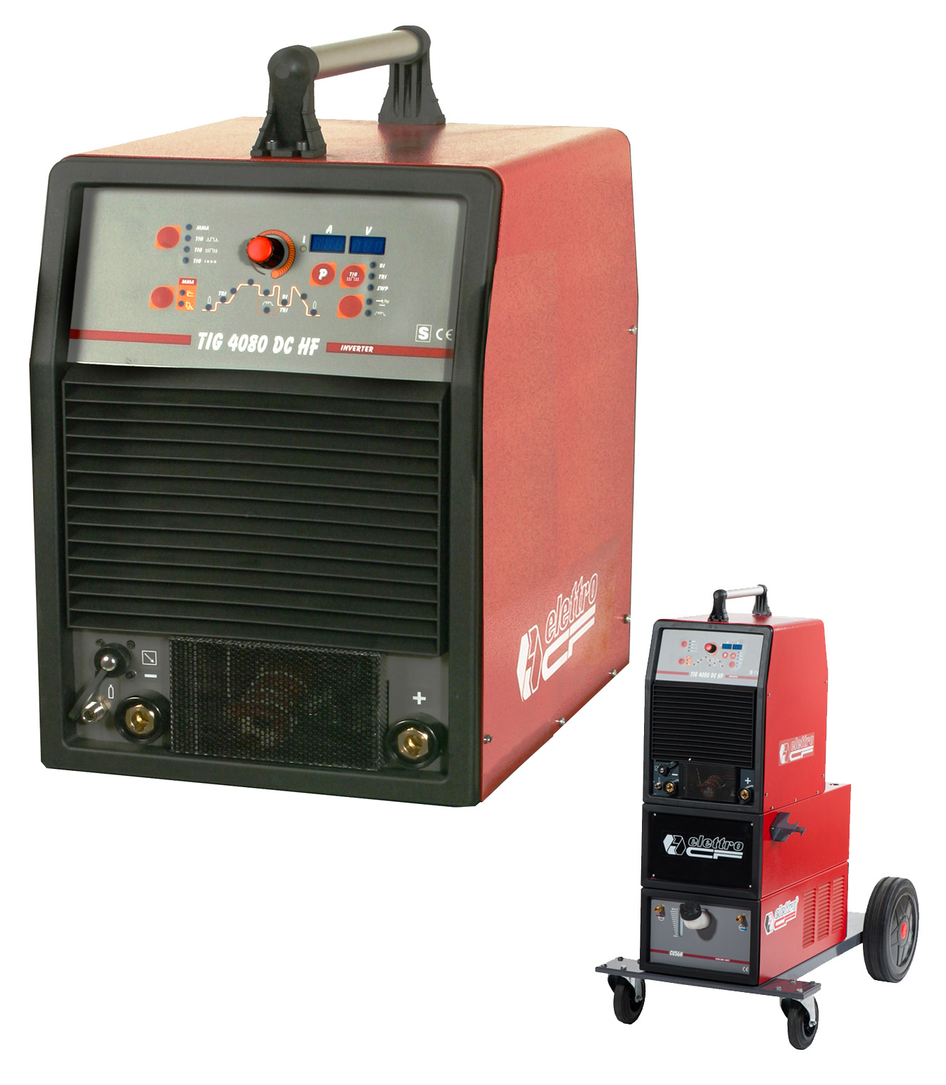 Elettro Cf S00120 Tig 4080 Dc Hf Welding Machine Diagram The Three Phase Multi Voltage Inverter Power Source For With High Frequency And Mma Smaw Is Equipped
