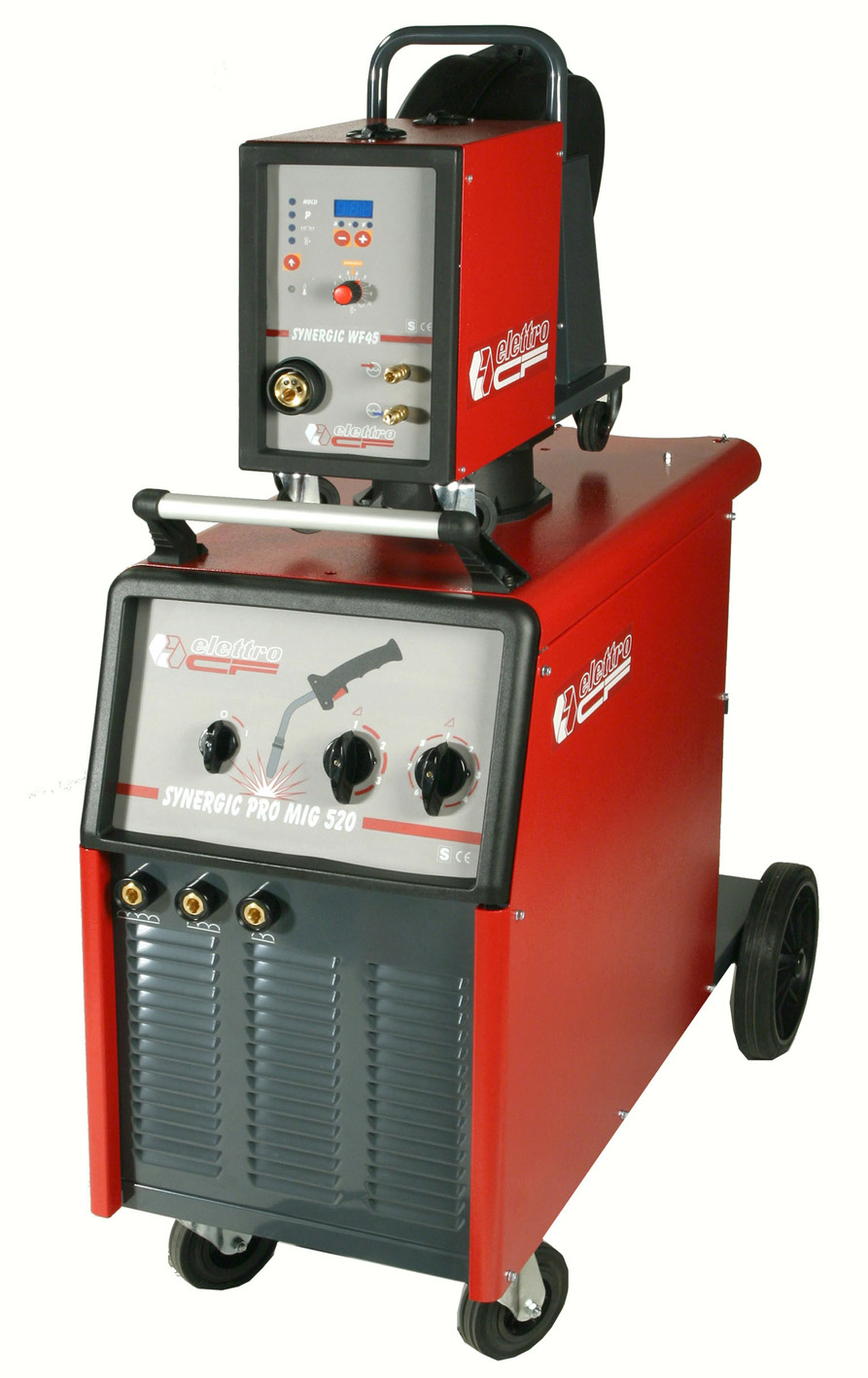 Elettro Cf S00300 Synergic Pro Mig 520 Informativa Cookiespdf Image 50 Amp Welder Plug Wiring Download Three Phase Power Source For Mag Wire Welding Equipped With A 4 Roller Feed Unit Item Wf45 Possibility To Connect Extensions